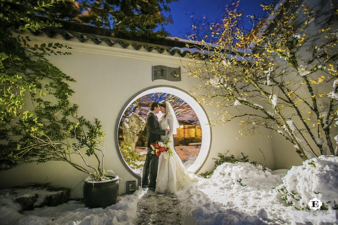 Portland wedding venues part 2 so as we all know a huge snow storm hit portland and blanketed the city in 14 inches of snow that did not stop cara and davin from going on with junglespirit Image collections